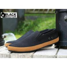 Sepatu Sneakers Pria Blackmaster D Gea Black Jawa Barat