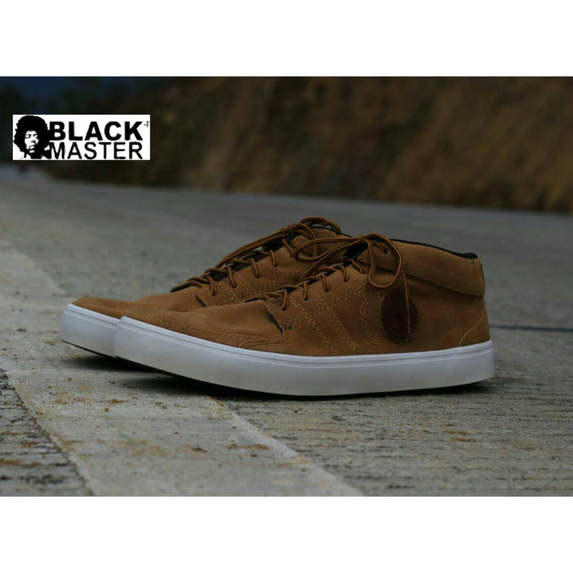 Sepatu Sneakers Pria Murah Berkualitas - BLACK MASTER NEYMAR - d942e8a110
