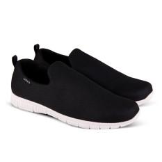 Sepatu Sneakers V 514 Model Slip On dan Casual Pria - Hitam