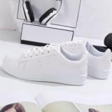 Spesifikasi Sepatu Sneakers Wanita Bolong Samping 2 Terbaru Warna Putih Murah