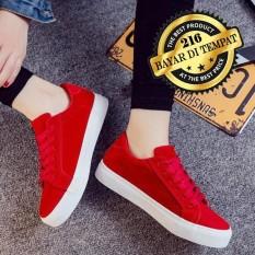 Spesifikasi Sepatu Sneakers Wanita Pria Sepatu Kets Santai Sepatu Sekolah Kuliah Lengkap