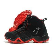 Sepatu Sport AX2 Hihg Black Red