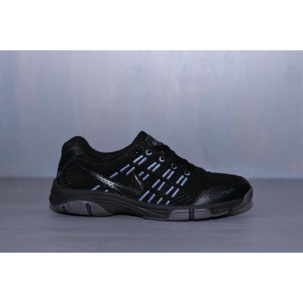 Sepatu Sport Biru Dongker hitam merah - Running Badminton Kets Pria sneakers  jogging murah 922c290bd3