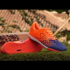 Sepatu Sport / Futsal SPCS Blue Orange - Sepatu Bola - Sepatu Olah raga