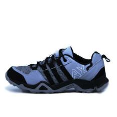 Sepatu Sport Pria AX2 Black Grey - Army - Full Grey Men Shoes Olah Raga
