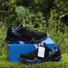 Sepatu Sport Pria AX2 Blue Black - Men Shoes Olah Raga Pria