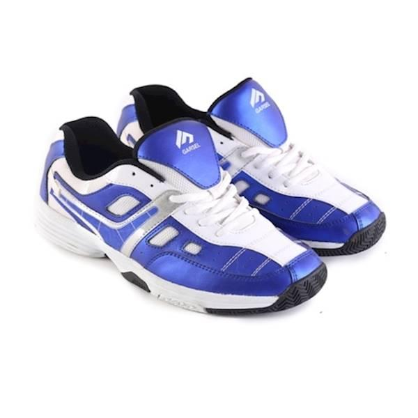 Sepatu Sport Pria Ori Distro Garsel / Sepatu Olahraga Gym Badminton