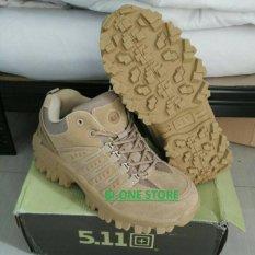 Jual Sepatu Tactical 5 11 Sc*t Predator Import 4 Inchi Coklat Branded Original