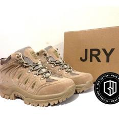 Jual Beli Sepatu Tactical Jry Import Military 6 Airsofter Autdoor Footwear Cokelat Gurun