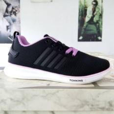Sepatu Tomkins Rachel Black Purple