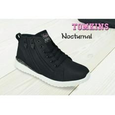 Sepatu tomkins wanita NOCTURNAL blk/wht