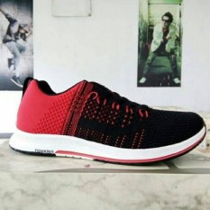 Sepatu Tomkins Wexler Black Red