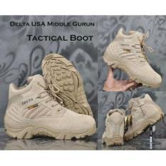 Sepatu Touring Hiking Turing Delta Gurun Taktikal Tactical Boots Quality Equipment Tinggi 6 Inchi