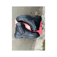 Sepatu Tracking Kickers Boots Magnum Delta Ziper Reseleting Hitam Full  Black Safety Ujung Besi Touring Motor 1842ca4c66
