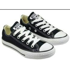 Sepatu unisex All Star Low Hitam Sol Putih