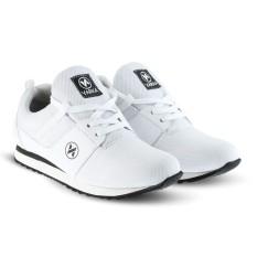 Sepatu VA 415 Sepatu Sneakers Kets dan Kasual Pria bisa untuk olahraga lari joging santai - Putih