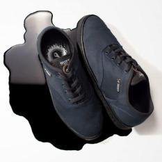 Sepatu Vicio Navy Black Geoff - Hrw5cs