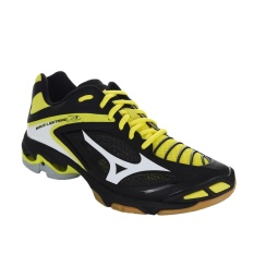 Sepatu voli Mizuno Wave Lightning Z3 - Black  White  Bolt