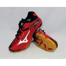 Sepatu voli Mizuno Wave Lightning Z3 - Merah Putih Hitam