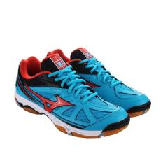Sepatu Volly Mizuno Wave Hurricane 2 - Atomic Blue (100% Original) - 97339C