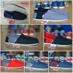 Sepatu Wakai Slop Casual Import Pria Original Vietnam - 6Bd5eb