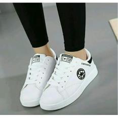Sepatu Wanita All Star Converse Trendy Masa Kini .(Warna Putih)