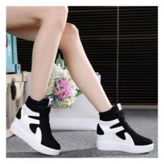 Sepatu Wanita Beauty White&Black Alf-BSH-3740