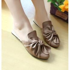 Harga Sepatu Wanita Flatshoes Selop Fl21D Di Dki Jakarta