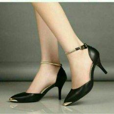 Sepatu Wanita Heels T5 Hitam