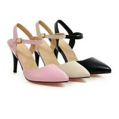 Sepatu Wanita High Heels Pantofel Sepatu Pesta Sepatu Hak Tinggi Asli