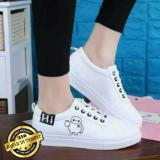 Review Pada Sepatu Wanita Kets Hi Sneakers Wanita Lucu