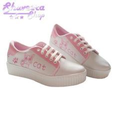 Jual Beli Sepatu Wanita Kets Model Kucing Lucu Sneakers Flatshoes Cats