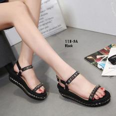 Sepatu Wanita Sepatu Batam Fashion Christian Loubotin AC 118-3A