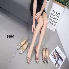 Sepatu Wanita Sepatu Batam Monna Vania Couture Flats AC#990-1
