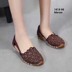 Sepatu Wanita Sepatu Batam Monna Vania Houston Flats AC#1619-96