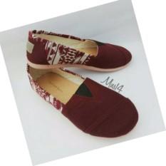sepatu-wanita-slip-on-merah-flat-shoes-kanvas-9615-63024585-605e0a2933dcf07cbd1d2c699f8b6a33-catalog_233 Kumpulan Daftar Harga Sepatu Wakai Slip On Terbaik minggu ini