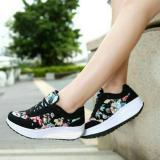 Spesifikasi Sepatu Wanita Sneaker Kets Olahraga Bunga Paling Bagus