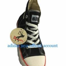 Jual Beli Sepatu Warrior Classic Hitam Putih Orginal Di Jawa Barat