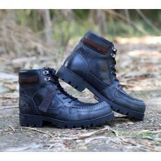 Berapa Harga Sepatu Wolf Rotweiler Sepatu Travel Adventure Outdoor Sepatu Boots Safety Leather Men S Wolf Rottweiler Black Di Jawa Barat