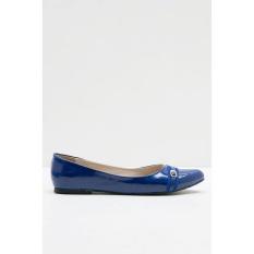 Sepatu Yongki Komaladi Original - ANDINI 41130031 FLAT SHOES BLUE
