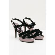 Sepatu Yongki Komaladi Original - WOMEN DIANDRA HIGH HEELS BLACK 41310060