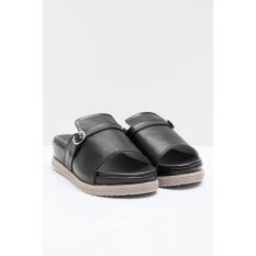 Sepatu Yongki Komaladi Original - WOMENS JOSIAH WEDGES HITAM 41240044