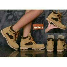 Sepatu ZimZam Animation Boots Safety Women Krem