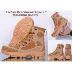 Harga Termurah Sepatu Zimzam Delta Blackhawk Assault Rersleting Safety