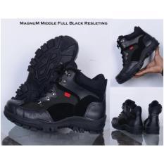 Sepatu Zimzam Magnum Middle Resleting