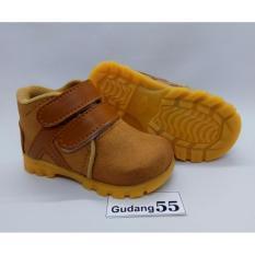 Jual Sepatu55 Sepatu Anak Bayi Laki Laki Boot Coklat Online