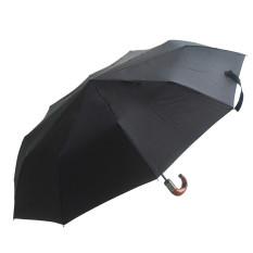 Toko Sepenuhnya Otomatis 10 Jumlah Tulang Rusuk Payung Hujan 3 Kali Lipat Black3 Payung Untuk Pria Perlindungan Sinar Uv Kuat Tahan Air Dan Tahan Angin International Tiongkok