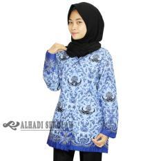 Seragam PNS, Baju Korpri Wanita UKURAN S,M,L,XL,3L Baju Batik korpri (BKW001-01)
