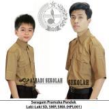 Pusat Jual Beli Seragam Pramuka Pendek Laki Laki Ukuran 7 S D 15 Pramuka Sd Smp Sma Hpl001 Dki Jakarta
