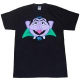 Kualitas Sesame Street Count Von Count Wajah Dewasa Desain Custom Fashion Mens O Neck T Shirt Hitam Intl Custom T Shirt